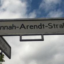 Hannah Arendt Straße / Berlin, Eyal Streett (HCH 2)