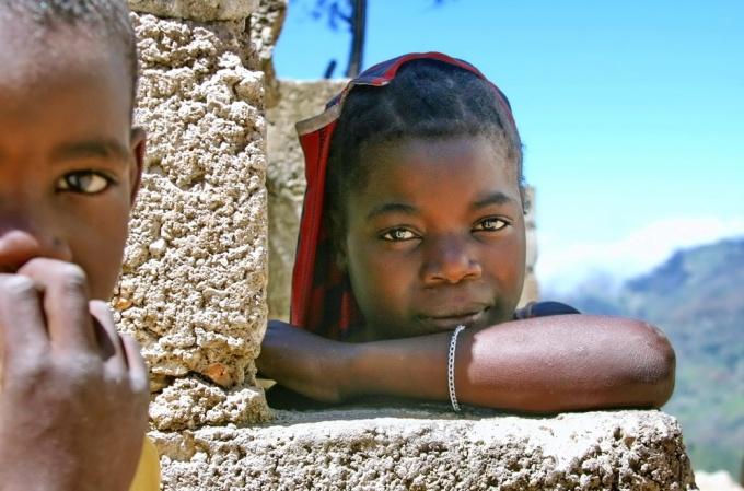 Shyness. Furcy, Haiti