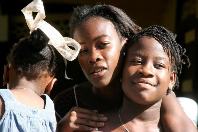 Sisterhood. Aquin, Haiti