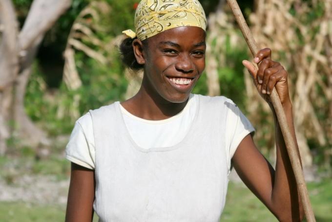 Sprightliness. Ile-à-Vache, Haiti