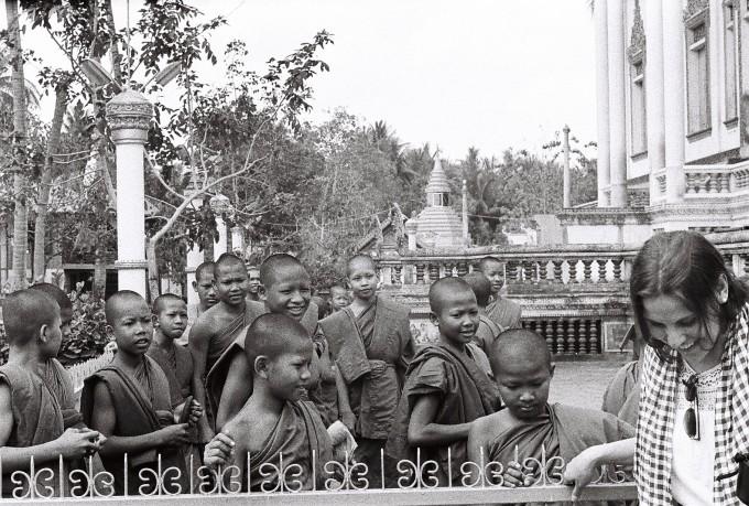14. An unexpected meeting (Battambang, Cambodia)